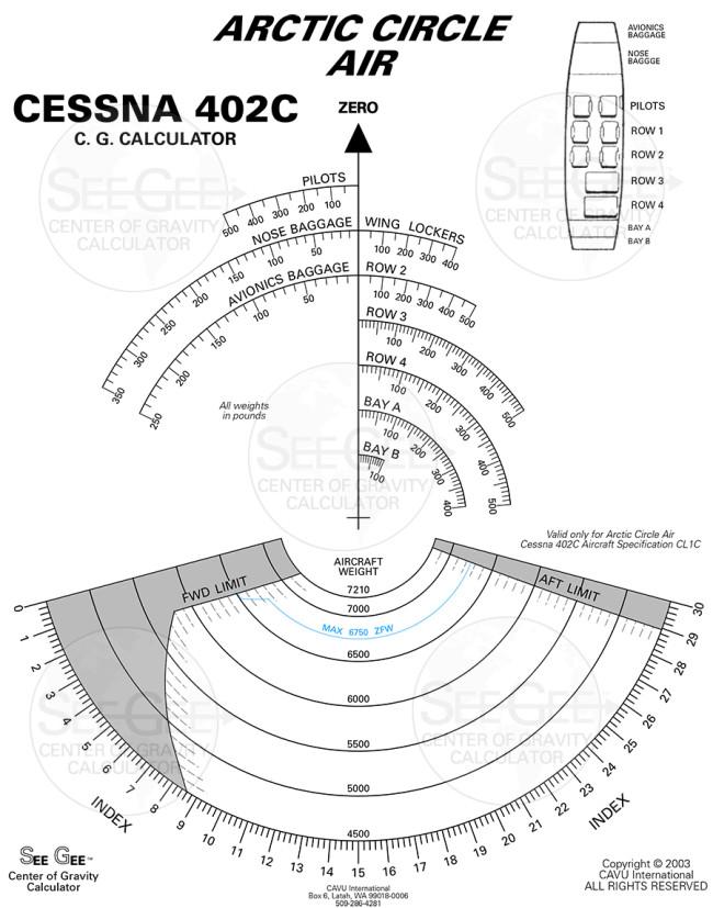 CL1C Cessna402C v8 v12